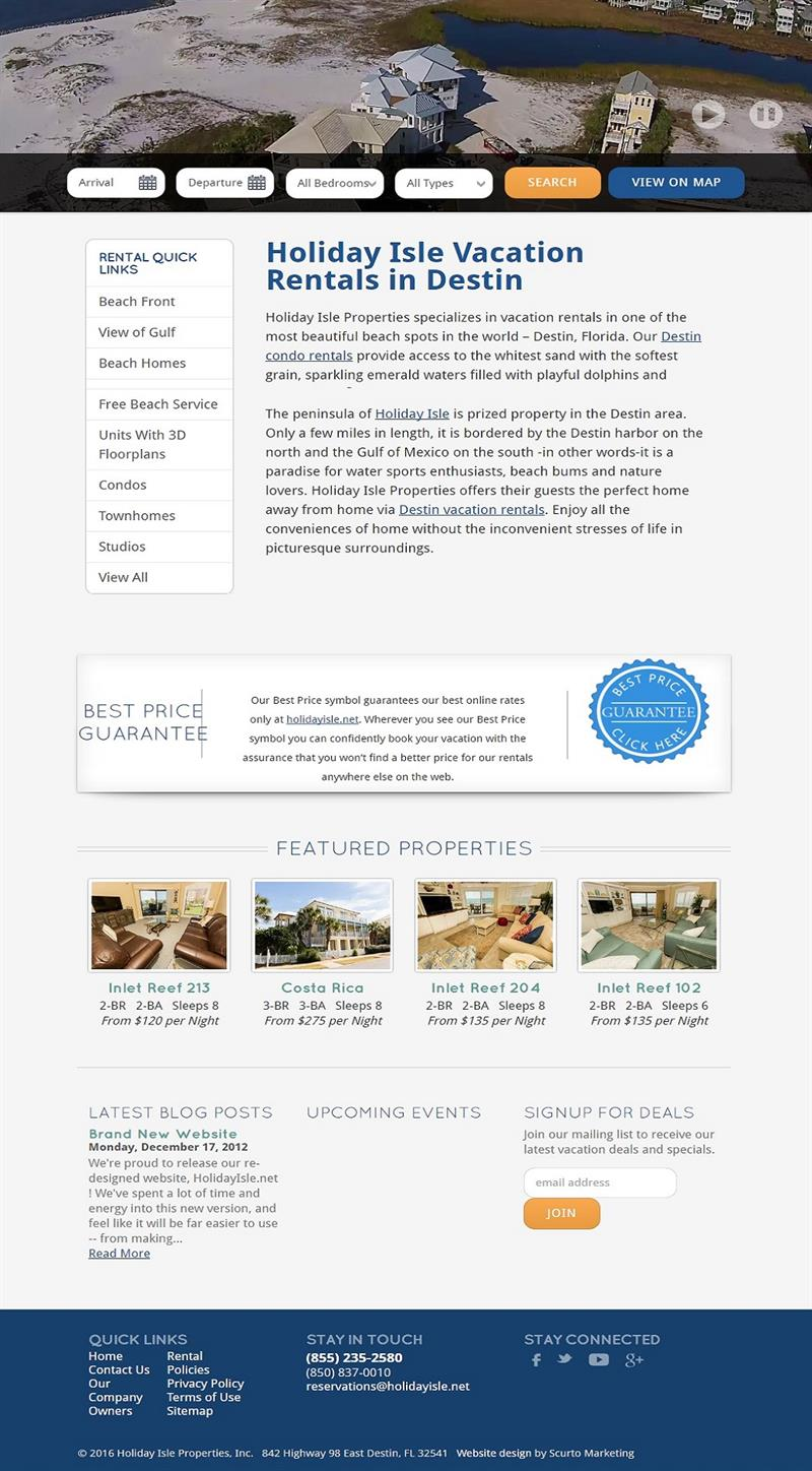 Web Design & Marketing Services for Vacation Rental Managers