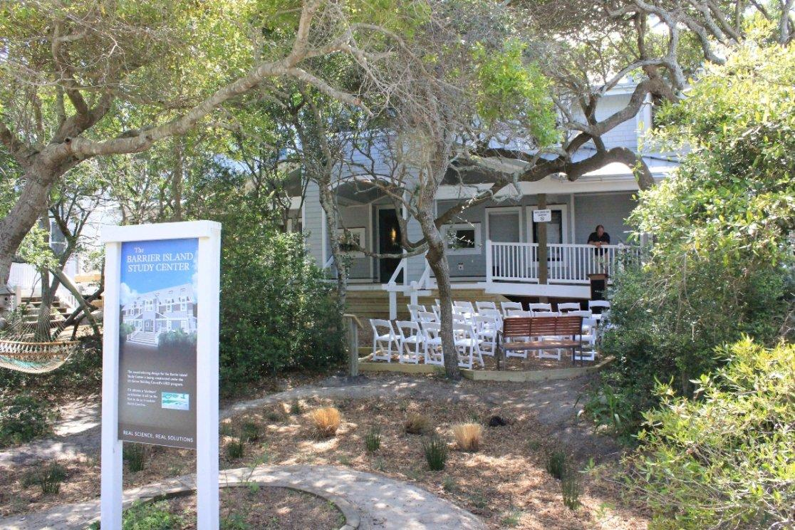Barrier Island Study Center Receives Gold LEED Certification and Stewardship Award