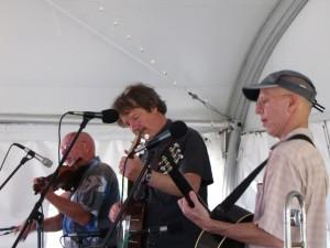 Tony award winning Red Clay Ramblers headlined the Americana Music Festival.