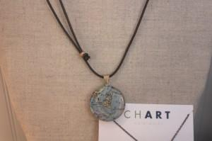 Chart nautical necklaces at Be Our Guest.