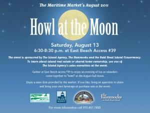The Island Agency Sponsors Howl at the Moon