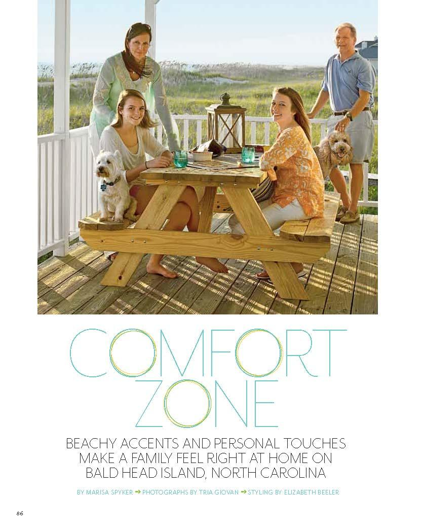 Bald Head Island Home Featured in Coastal Living