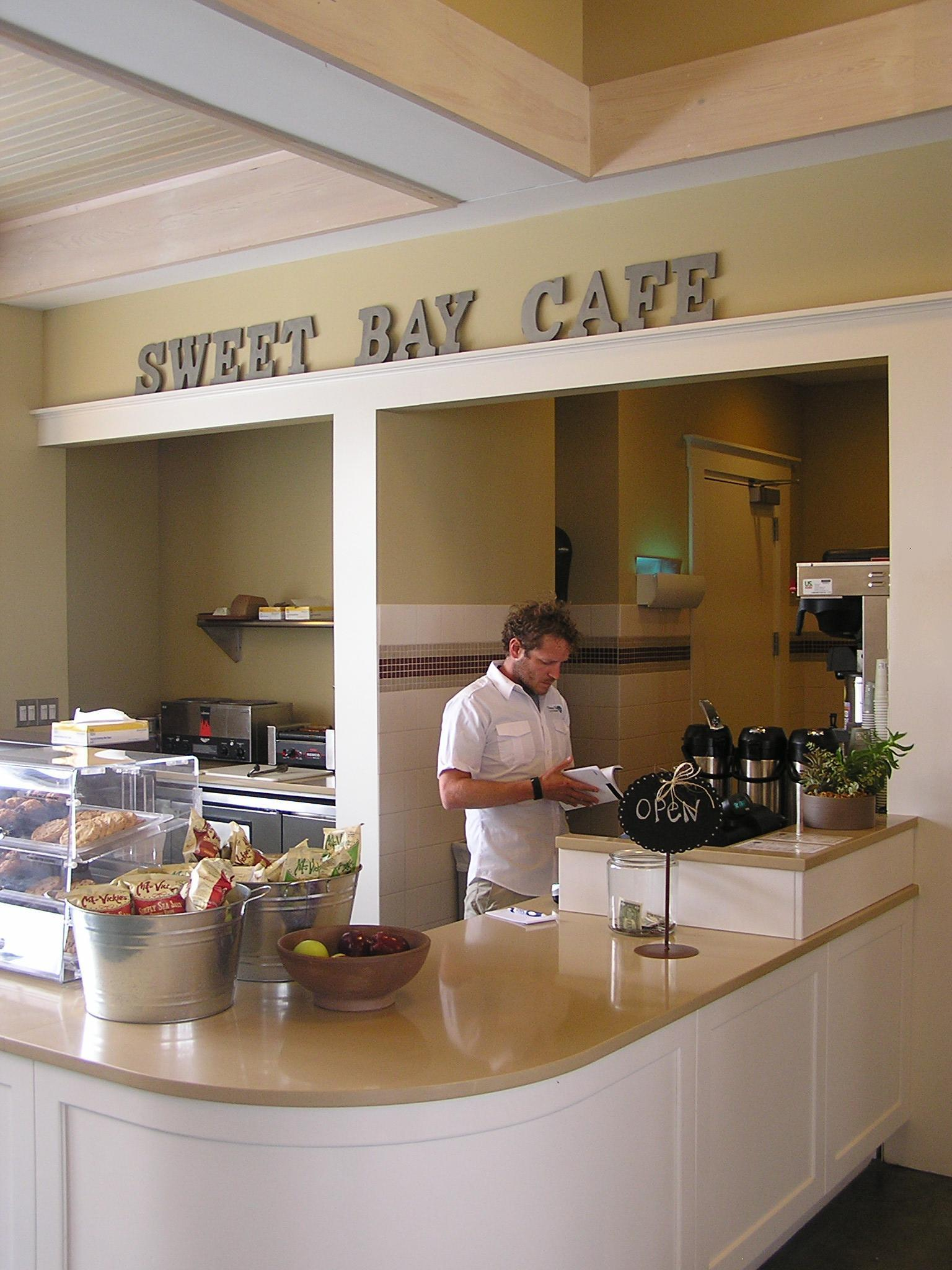 Sweet Bay Cafe Open at Deep Point Marina