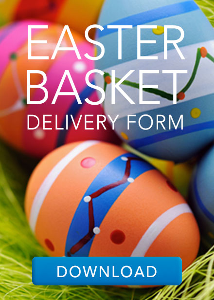Easter Basket Delivery Form Callout