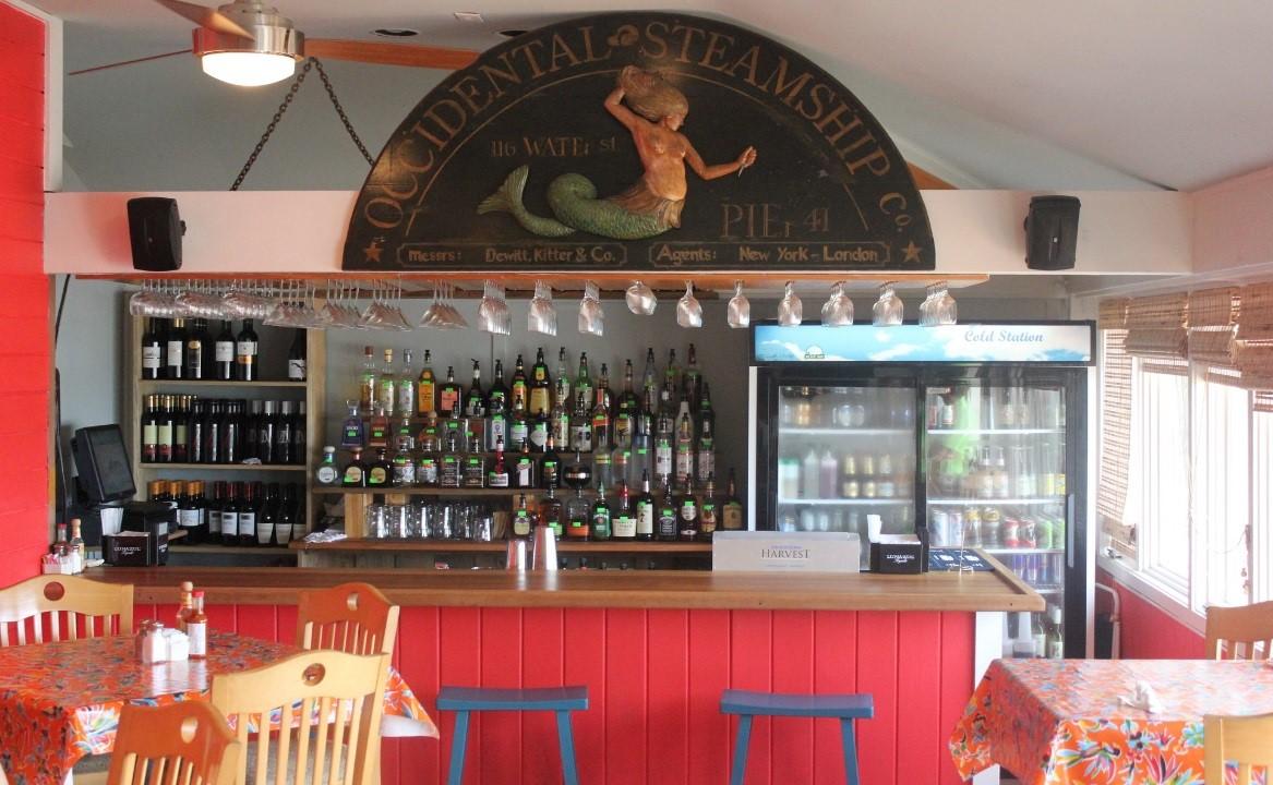 Dining on bald head island bald head island for Fish head cantina menu