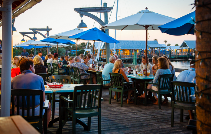 Where To Eat When You First Arrive On Bald Head Island